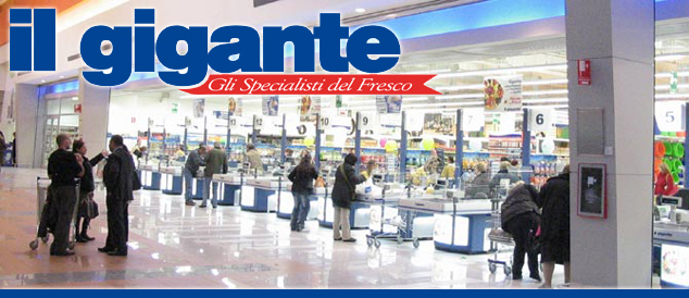 Il Gigante supermarket cerca banconieri