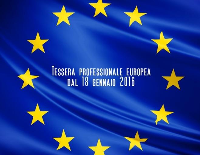 Cos'è e come funziona la Tessera Professionale Europea