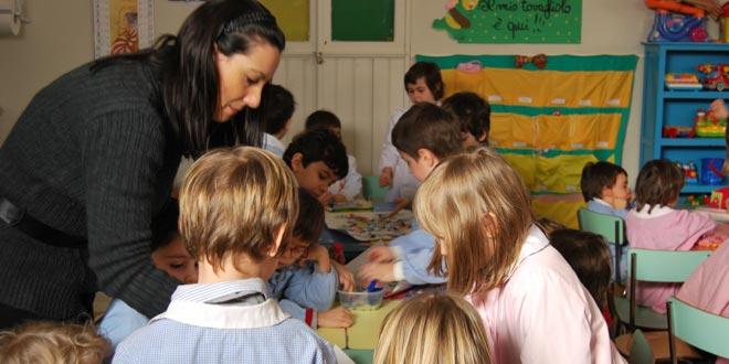 Proposta per riconoscere il lavoro di insegnante dell'infanzia come usurante